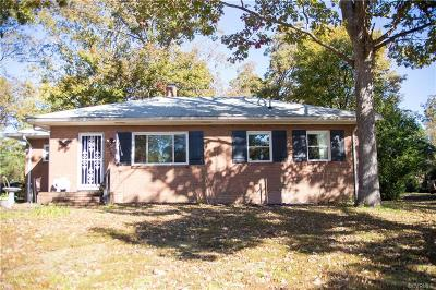 Richmond Single Family Home For Sale: 6520 Holliday Road
