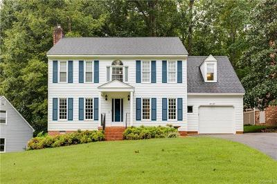 Chesterfield County Single Family Home For Sale: 4817 Cedar Cliff Road