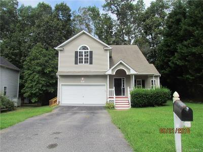 Chesterfield VA Single Family Home For Sale: $240,000