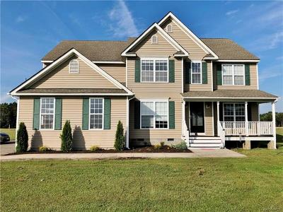 King William Single Family Home For Sale: 6653 Mount Olive Cohoke Road