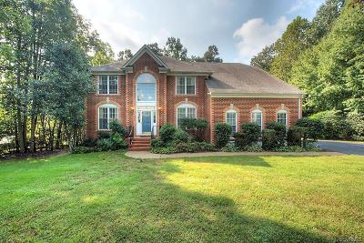 Chesterfield County Single Family Home For Sale: 9801 Gregorys Charter Drive