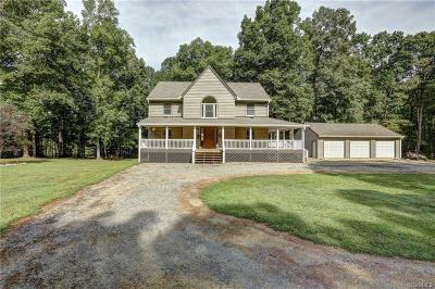 Hanover County Single Family Home For Sale: 17253 Tulip Poplar Road