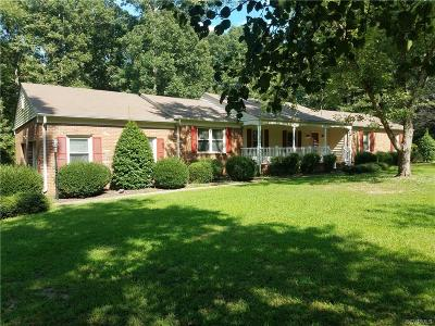 Powhatan County Single Family Home For Sale: 1904 Fairoaks Road