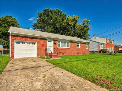 Hampton Single Family Home For Sale: 414 Big Bethel Road