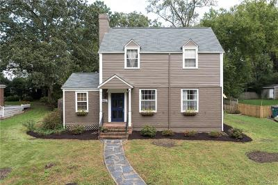 Henrico County Single Family Home For Sale: 7618 Hollins Road