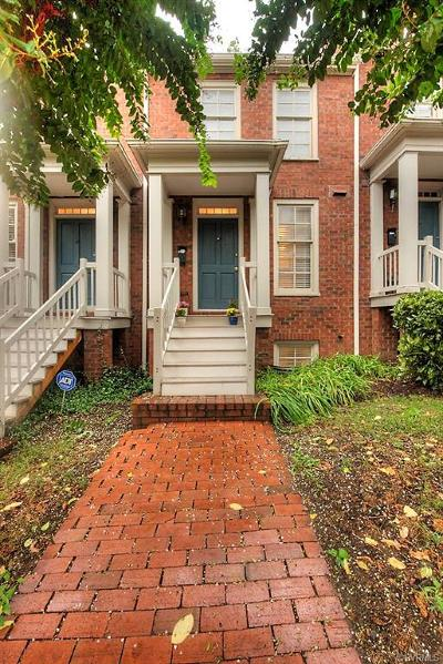 Richmond Condo/Townhouse For Sale: 2506 East Franklin Street