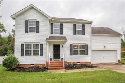 Chesterfield County Single Family Home For Sale: 3413 Rossington Boulevard