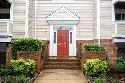 Henrico County Condo/Townhouse For Sale: 12291 Palmer Place Court #C