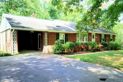 Chester Single Family Home For Sale: 5616 South Melbeck Road