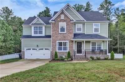 Chester Single Family Home For Sale: 9407 Cascade Creek Lane