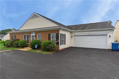 Hanover County Condo/Townhouse For Sale: 8982 Brigadier Road