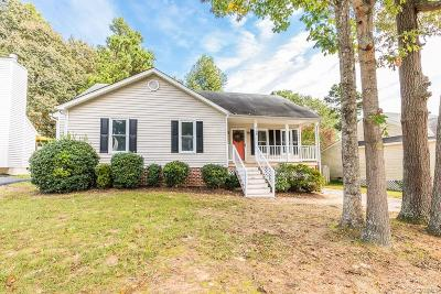 Hanover County Single Family Home For Sale: 6164 Winding Hills Drive