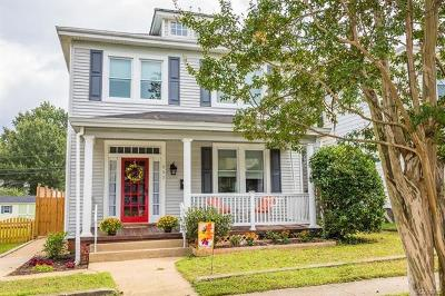 Richmond Single Family Home For Sale: 117 W 33rd Street