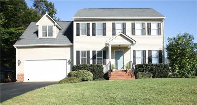 Mechanicsville VA Single Family Home For Sale: $349,900