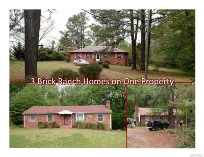 Mechanicsville Single Family Home For Sale: 6268 Mechanicsville Turnpike