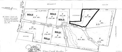 Powhatan County Residential Lots & Land For Sale: 1846 Oakland Estates Drive