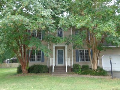 Henrico County Single Family Home For Sale: 3028 Sandy Bluff Place