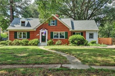 Richmond Single Family Home For Sale: 3612 Montrose Avenue