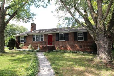 Richmond Single Family Home For Sale: 1800 Briarcliff Road