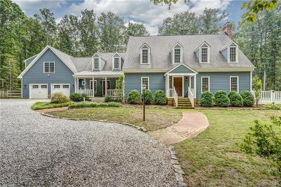 Goochland Single Family Home For Sale: 1225 The Forest