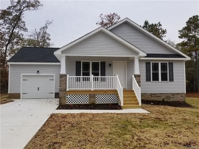 South Chesterfield Single Family Home For Sale: 21140 Baileys Lane