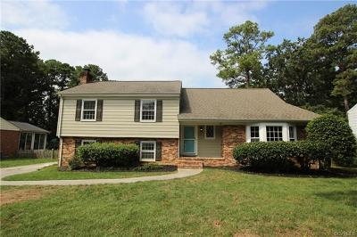 Henrico Single Family Home For Sale: 1518 Village Grove Road