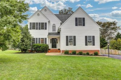 Glen Allen Single Family Home For Sale: 3801 Mill Place Drive