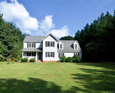 Powhatan County Single Family Home For Sale: 4250 Steger Creek Drive