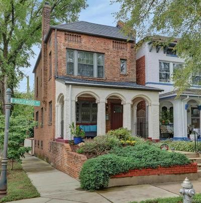 Richmond Single Family Home For Sale: 2301 Maplewood Avenue