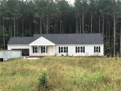 Powhatan County Single Family Home For Sale: 2972 Pineview Drive