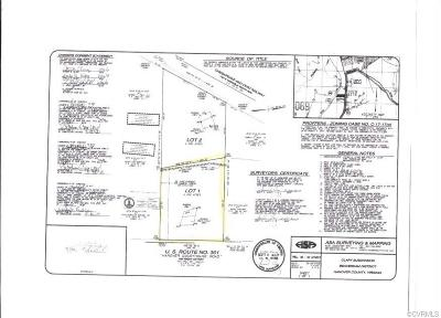 Hanover County Residential Lots & Land For Sale: 12253 Hanover Courthouse Road