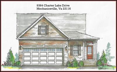 Mechanicsville Single Family Home For Sale: 9364 Charter Lake Drive