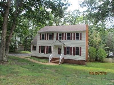 Chesterfield County Single Family Home For Sale: 1124 Worsham Green Terrace