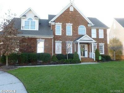 Chesterfield County Rental For Rent: 8024 Hampton Station Court