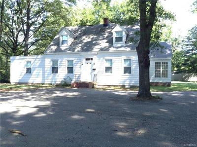 Henrico County Rental For Rent: 7327 Hermitage Road