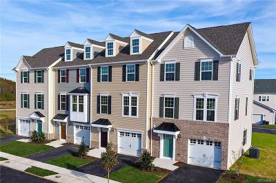 Chesterfield County Condo/Townhouse For Sale: 7812 Mint Lane #V-A