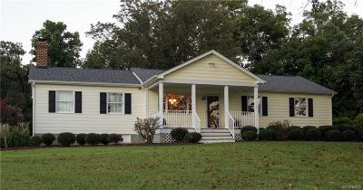 Hanover County Single Family Home For Sale: 13334 West Patrick Henry Road
