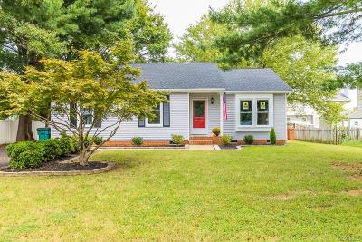 Henrico County Single Family Home For Sale: 1508 Persimmon Tree Lane