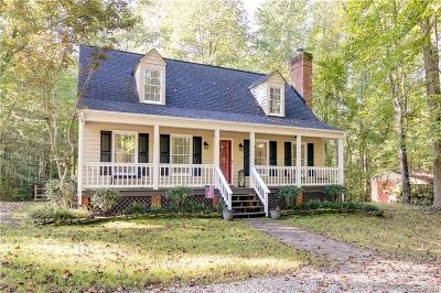 Powhatan Single Family Home For Sale: 4305 Cosby Road