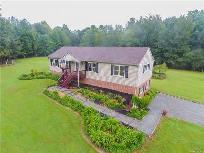 Hanover County Single Family Home For Sale: 14500 Bourne Road