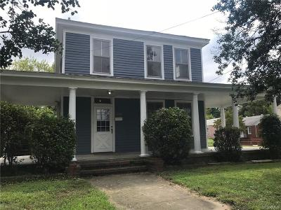 Petersburg Single Family Home For Sale: 2230 Ferndale Avenue
