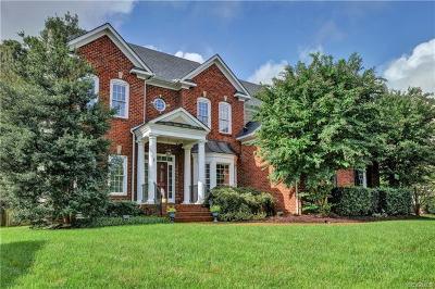 Glen Allen Single Family Home For Sale: 11613 Hickory Lake Terrace