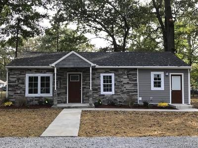 Hopewell Single Family Home For Sale: 3204 Jackson Farm Road