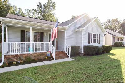 Dinwiddie County Single Family Home For Sale: 22901 Pintail Lane