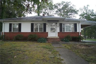 Chester Single Family Home For Sale: 1812 Walnut Drive
