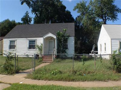 Richmond Single Family Home For Sale: 2309 Joplin Avenue