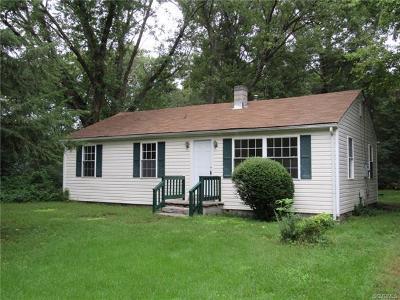 Ashland Single Family Home For Sale: 11294 Gwathmey Church Road