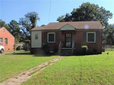 Richmond Single Family Home For Sale: 3201 Kenyon Avenue