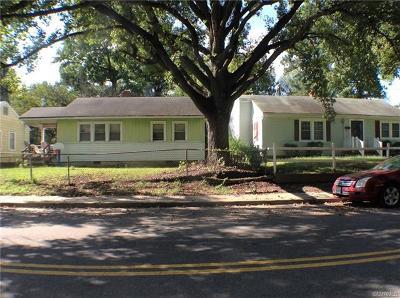 Richmond Single Family Home For Sale: 1413 Minefee Street