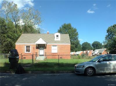Richmond Single Family Home For Sale: 1701 Presson Boulevard